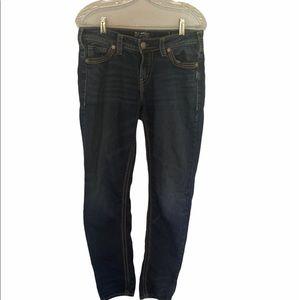 Silver Women's Skinny Jeans